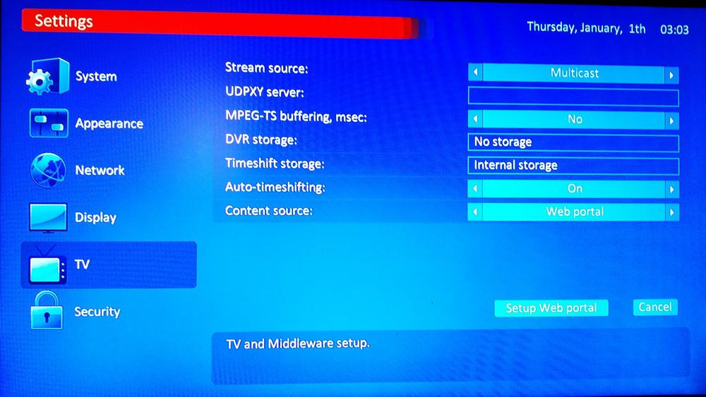 TVIP 410 412 Mini IPTV Box Android or Linux Dual OS Quad core 4Gb Flash  Full HD Smart TV Box Support Portal M3U IPTV Wifi