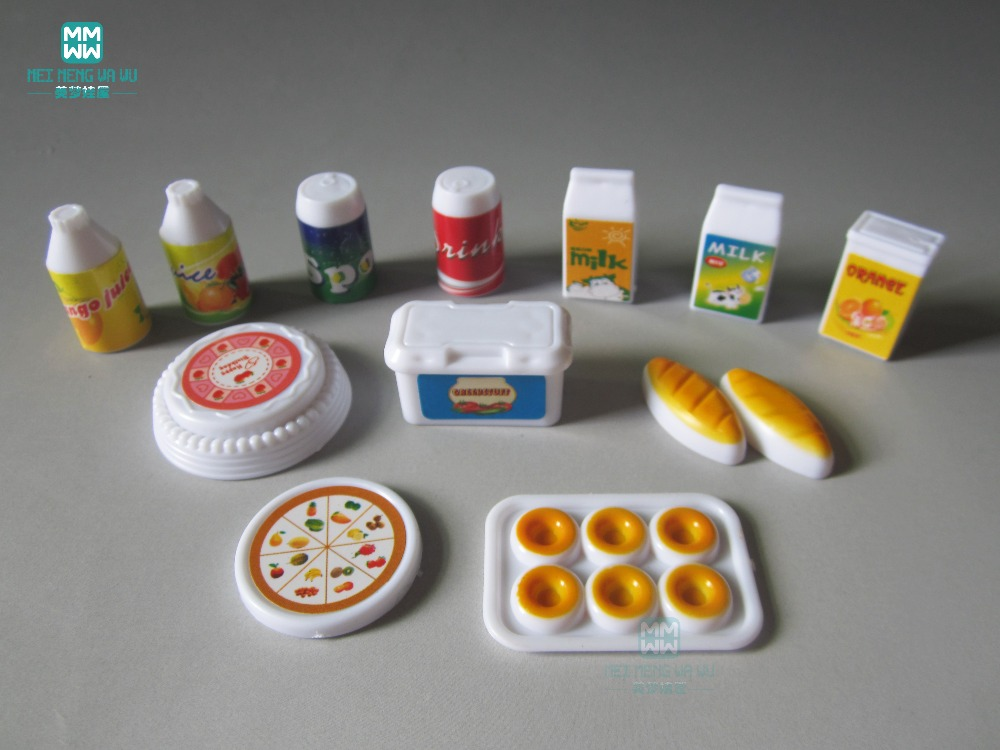 mini simulare de pâine de lapte tacâmuri copii juca casa de - Păpuși și jucării umplute
