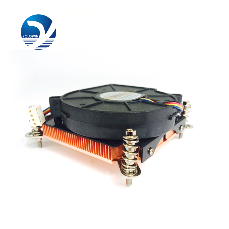 Extruded Profile Hea Sink For Electronic Heat Dissipation High Quality 72*70*29mm Computer Radiator Aluminum Heatsink YL-0036 synthetic graphite cooling film paste 300mm 300mm 0 025mm high thermal conductivity heat sink flat cpu phone led memory router