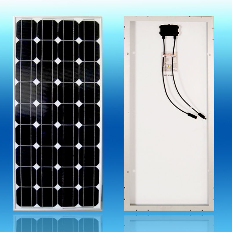 Cheap China Solar Panel 100w 12v Mono Placas Solares Solar