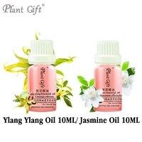 100% Czysty Roślinne Olejki Eteryczne Ylang Ylang/Jasmine Import Whitening Oleju 10 ml Indonezja Błyszczący Czarny Włosów Skóry Tłustej pielęgnacja