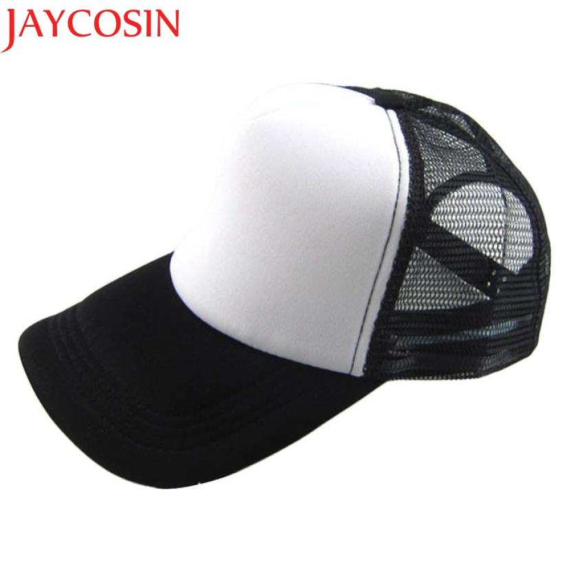 JAYCOSIN Unisex Casual Hat Solid Baseball Cap Mesh Blank Visor Hat Adjustable  Cap for Men Women ming dynasty emperor s hat imitate earthed emperor wanli gold mesh hat groom wedding hair tiaras for men 3 colors