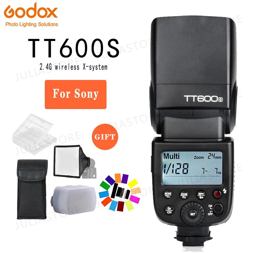 Godox TT600S 2.4G Sans Fil 1/8000 s Flash Speedlite pour Sony A9 A7 A7S A7R A7 II A6500 A6300 A6000 A99 RX10