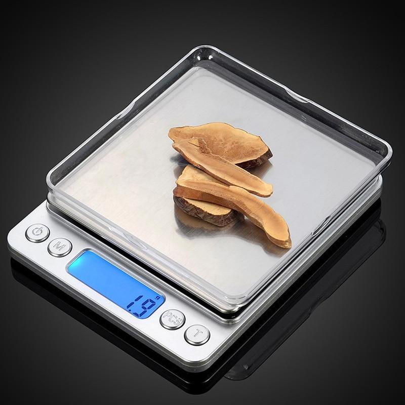 1000g 0 1g Portable Mini Electronic Digital Scales Pocket Case Postal Kitchen Jewelry Weight Balanca Digital