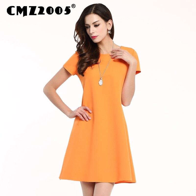 Robe Plus Velikost Barva Harajuku Módní letní šaty Osobnost Šaty A-Line Pravidelný Nad koleno Mini Freeshipping 71177