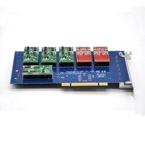 Image 2 - 24 ports PCI asterisk fxo fxs card,elastix card,trixbox card,Freeswitch,TDM800P/AEX800/TDM2400P/AEX2400 Software IP PBX System