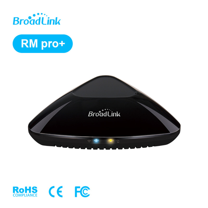 BroadLink RM Pro Homekit Wi-fi Domotica Automação residencial Inteligente Hub IR RF Controle Remoto Universal Trabalhar com Alexa Inicial do Google mini