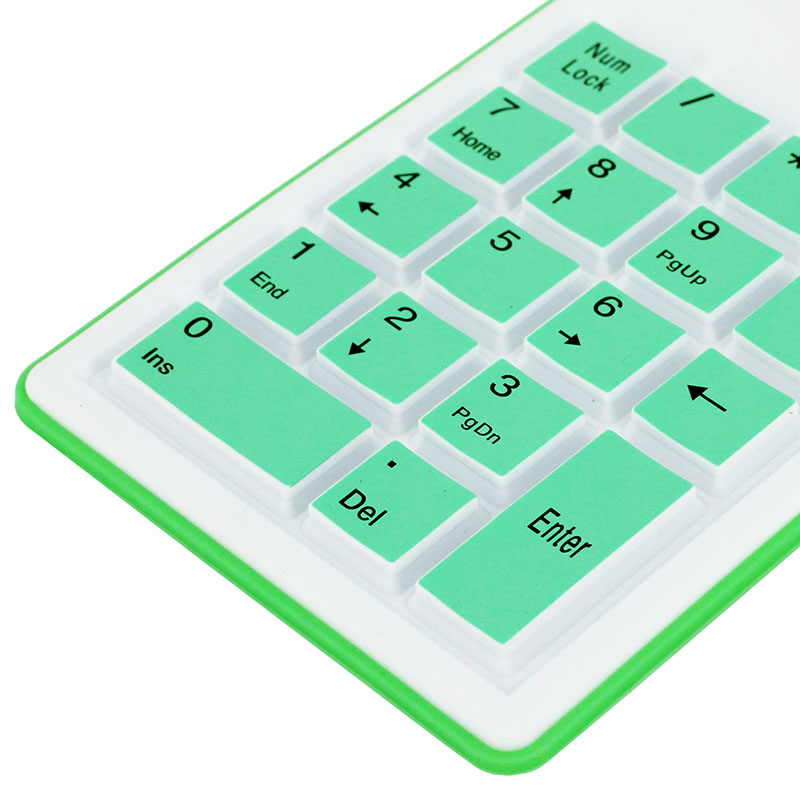 KPC1282_2_18 Keys Silicone Air Touch Numerical Keypad