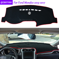 For Ford Mondeo 2013 2017 Dashboard Mat Protective Interior Photophobism Pad Shade Cushion Car Styling Auto