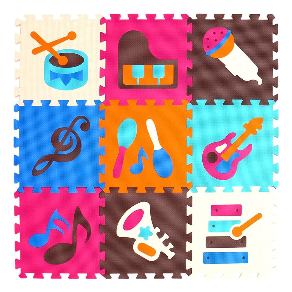 HTB1jT1ygiAnBKNjSZFvq6yTKXXa2 mei qi cool 9pcs/set baby play EVA foam puzzle mat /Cartoon EVA foam pad / Interlocking Mats for kids playmat