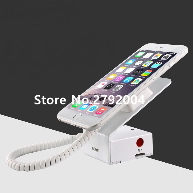 L shape metal mobile phone security stand cellphone display alarm cellphone anti-theft lock burglar alarm for retail shop 10xcell phone security stand mobile phone display smartphone burglar alarm system ati theft holder for electronics retail shop