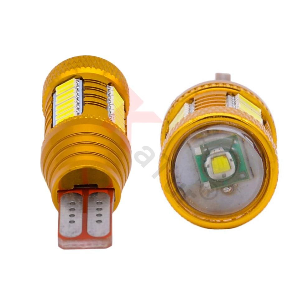 Katur 2 pcs T15 W16W Led Lampu Untuk Mobil 4014 32smd + 1smd Canbus - Lampu mobil - Foto 2