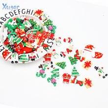 Xugar 10 шт Милая Пижама с рождественским принтом пижама смолы)