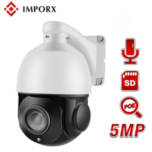 IMPORX 5MP 36X ZOOM Full HD 1944P IP IR MiNi High Speed Dome Camera 2MP 1080P PTZ CAMERA Support Audio SD Card POE Onvif