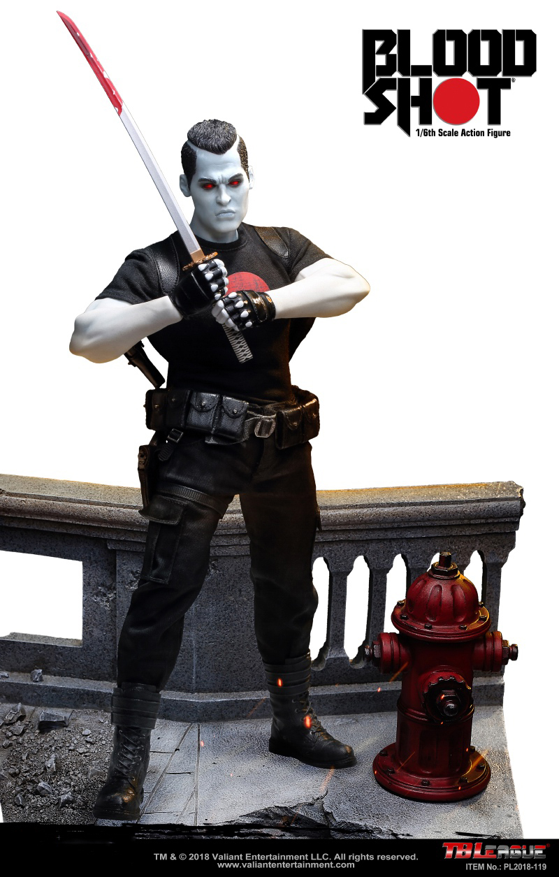 1:6 TBLeague PL2018 -119 1/6 Scale Bloodshot Action Figure Toy Collection full set figure with Combined gun toy1:6 TBLeague PL2018 -119 1/6 Scale Bloodshot Action Figure Toy Collection full set figure with Combined gun toy
