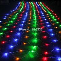 1 5m X 1 5m 96 Leds Net Fairy Lights Christmas Party Wedding Decoration Twinkle LED