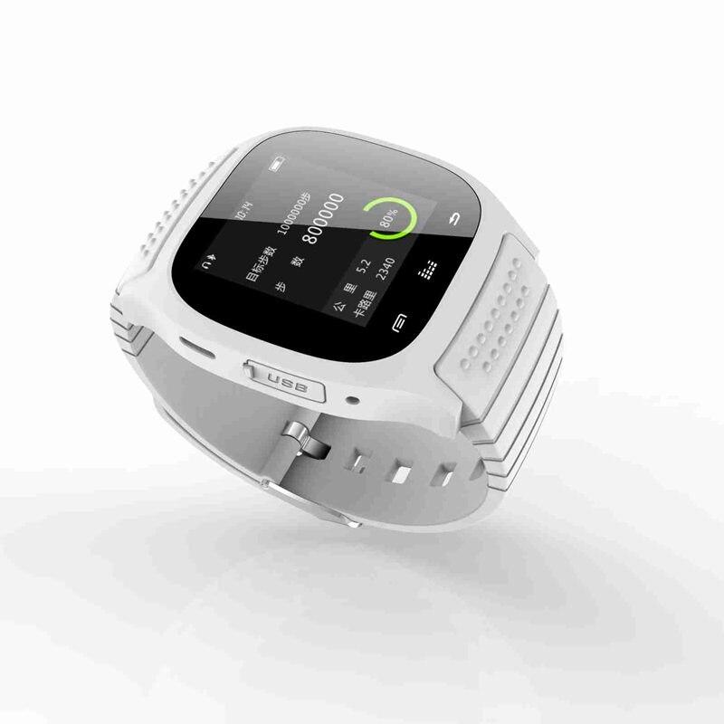37328baa4 Impermeable bluetooth smart watch m26 reloj inteligente con pantalla led  anti perdida reloj para iphone ios y teléfonos android en Relojes  inteligentes de ...