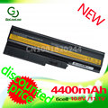 Golooloo T60 laptop Battery  4400mAh  for Lenovo/ IBM Thinkpad  z61 R61 T61 R60 Z60 92P1140  92P1138  40Y6799   Special Price!!