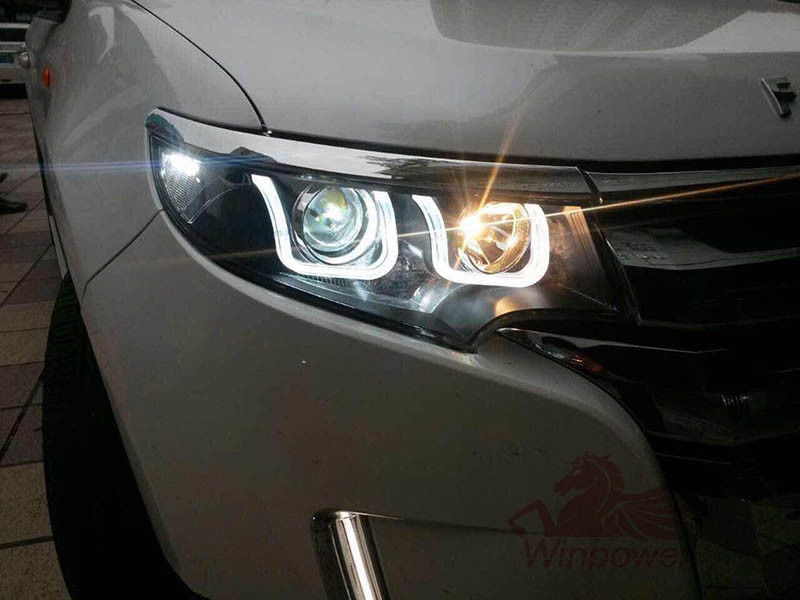 Set Universal V W K Hid Headlights For   Ford Edge Headlights Led Xenon Headlamps In Car Light Assembly From Automobiles Motorcycles On