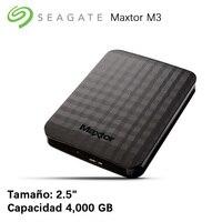Seagate Maxtor M3 4000 ГБ 2,5 3,0 (3,1 Gen 1) USB с источника питания черный