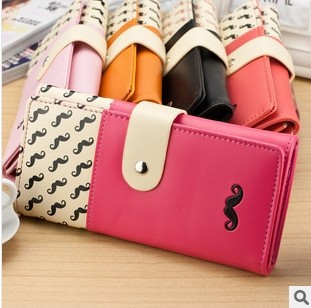 Fashion women wallet Soft PU leather lady handbags woman hasp clutch wallets - FEN ZHOU store