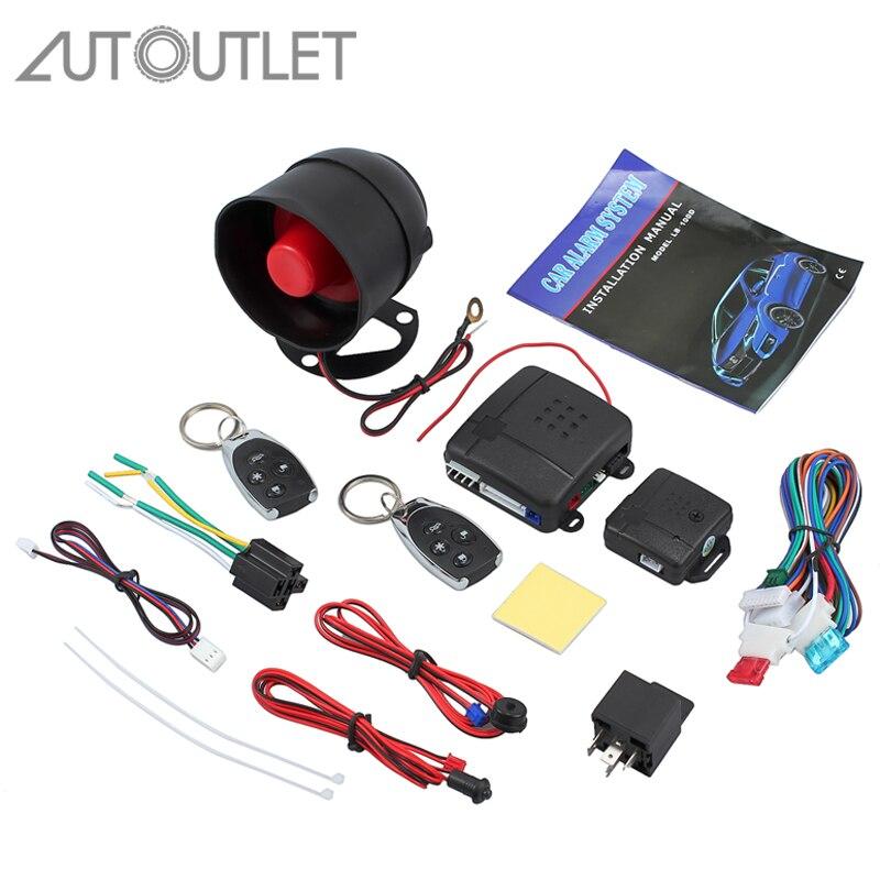 research.unir.net UNIVERSAL CAR SECURITY ALARM SYSTEM REMOTE ...