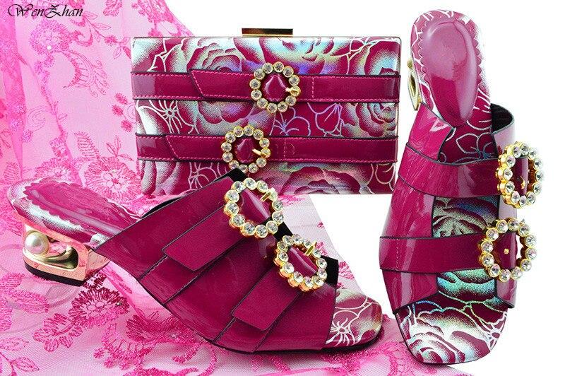 Mit Damen Passenden Und Schöne B87 13 Dekoriert Gelbe Taschen Kristall Blume 43 38 Set Nigerian Schuhe Tasche Passende frrEKqw5