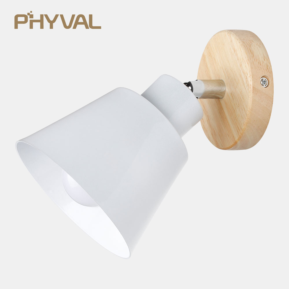 LED Wall Lamp Indoor Lighting Aluminum Wall Sconces Creative Modern Wall Lights Beside lamp Lights for Bedroom Reading Room E27 creative circle modern wall sconces art abnormity wall lights for home indoor lighting bedside led wall lamp