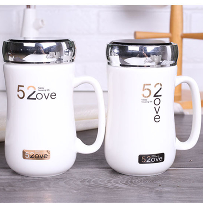 1pcs Multiple Styles Creative Ceramic Mugs Office Afternoon Tea Cup Leisure Bar Coffee Mug Give The Girls Gift Cup 6ZDZ244