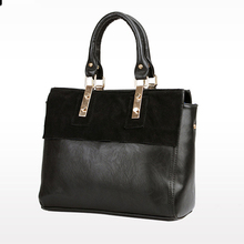 Fashion Retro Style Genuine Leather Messenger Handbags Large Capacity Shoulder Tote Shoulder Bags