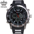 SMAEL Alloy Sport Watch Men Waterproof LED Digital Watches Best Gifts for Men Relogios Masculino 3ATM Wasserdicht1063
