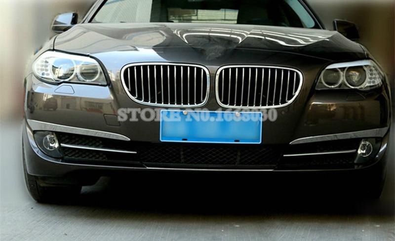 BMW 5 Series GT F07 2010-2015 2pcs üçün xarici ön duman işıq - Avtomobil daxili aksesuarları - Fotoqrafiya 4