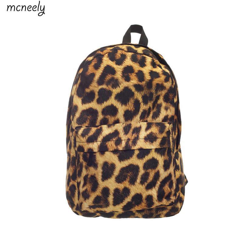1eedd0c9aebb Модный леопардовый Рюкзак, школьная сумка для мальчиков и девочек, рюкзак с  принтом, дорожная