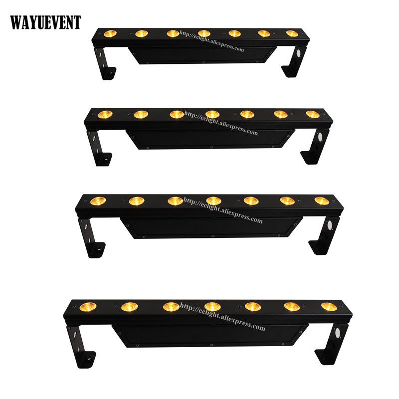 4pcs 7X5W LED Pixel beam bar KTV Club Party wash lighting 5CH 7CH leds stage light|stage light|led stage light|beam bar - title=