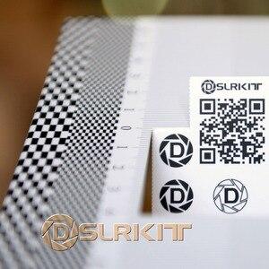 Image 3 - Herramienta de concentración de lentes de tarjeta plegable, alineación de calibración AF, Micro Tabla de reglas de ajuste