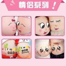 f377a37de4d6a Kawaii عصامي للحوامل العلاج الصور صور الدعائم الحمل الأمومة البطن الرسم صور  ملصقات(China)