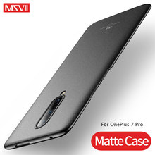 One Plus 7 Pro Case Cover MSVII Ultra Thin Matte Coque For OnePlus 7 Pro Case OnePlus 7Pro PC Hard Back Cover OnePlus7 Pro Case