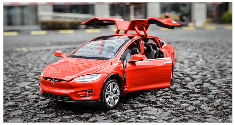 Tesla Model X Model Car 17