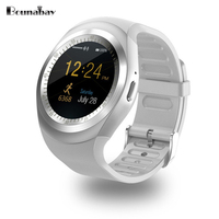 BOUNABAY Heart Rate Pedometer Bluetooth 4 0 Woman Smart Watch For Apple Android Phone Multi Lingual