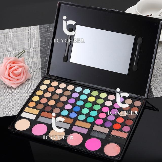 78 Colors Makeup Shimmer Matte Eyeshadow Shadding Powder Concealer Eye Shadow