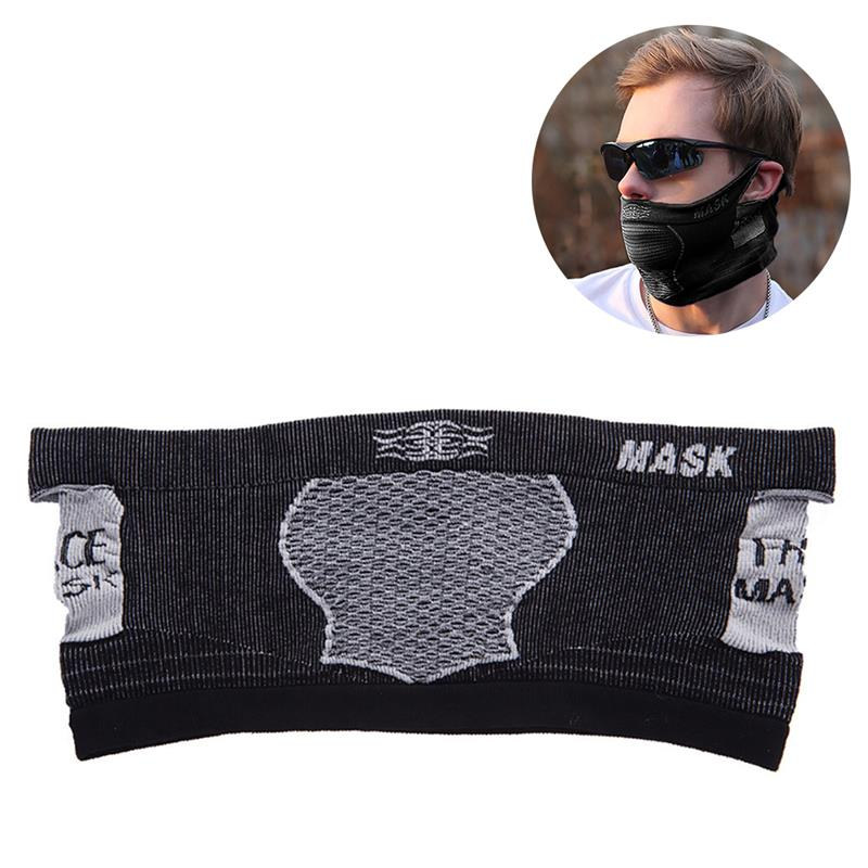 Fashion Dustproof And Breathable Masks Cycling Mask UV Protection Breathable Windproof Bandana Mask Half Face Bandana Unisex
