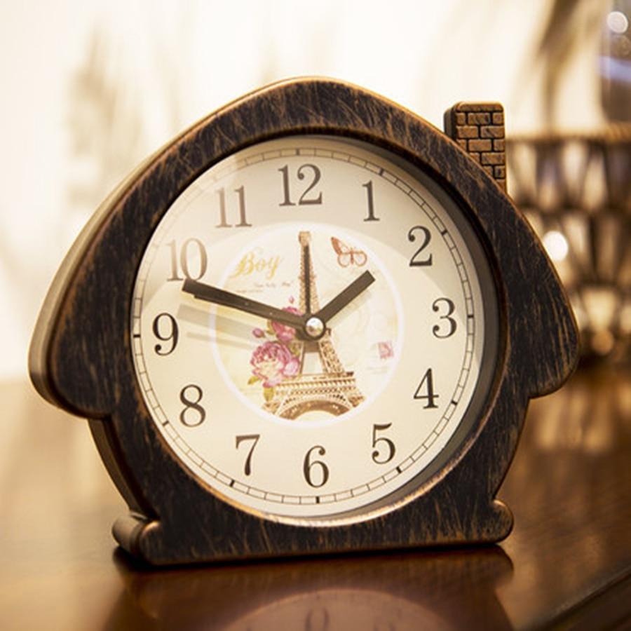 Creative Bell Alarm Clocks Antique Retro Mechanical Alarm ...