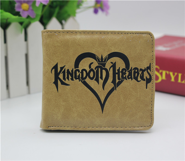 anime game Kingdom Hearts coin wallet Cosplay men women Bifold Purse japan anime date a live wallet tokisaki kurumi cosplay wallets coin card women men bifold purse