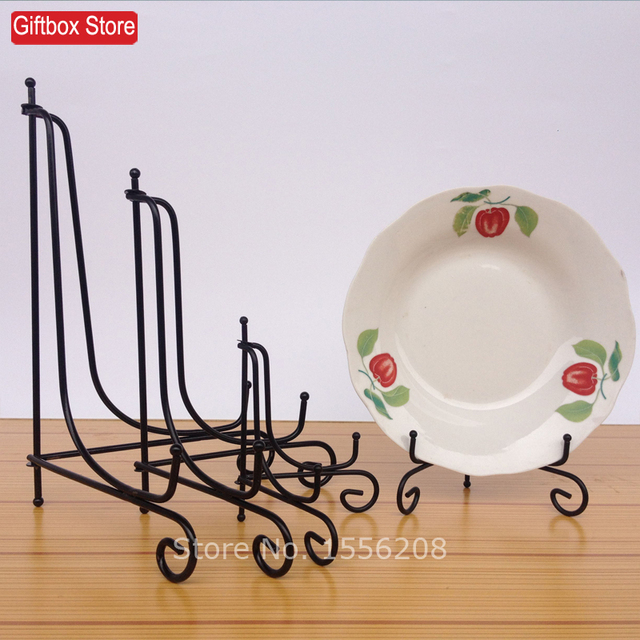 Free Shipping Decorative Iron Table Picture Frame Display Easel Stand Dish Plate Bowl Book Pedestal Holder  sc 1 st  AliExpress.com & Free Shipping Decorative Iron Table Picture Frame Display Easel ...