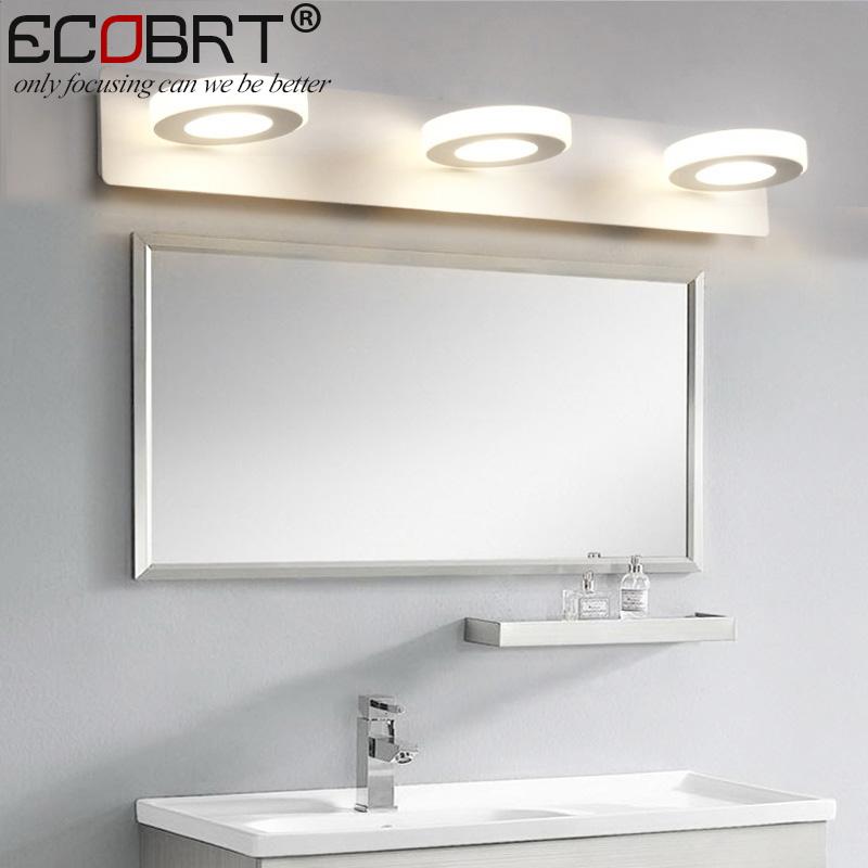 ecobrt w led luces de espejo de bao cm largo acv v
