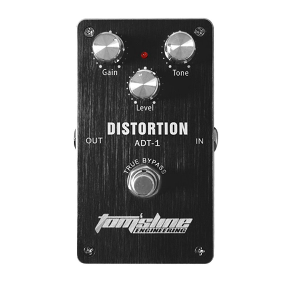 Aroma ADT-1 Distortion Electric Guitar Pedal Aluminum Alloy Housing Guitar Effect Pedal True Bypass High Quality Guitar Parts aroma aos 3 octpus polyphonic octave electric guitar effect pedal mini single effect with true bypass