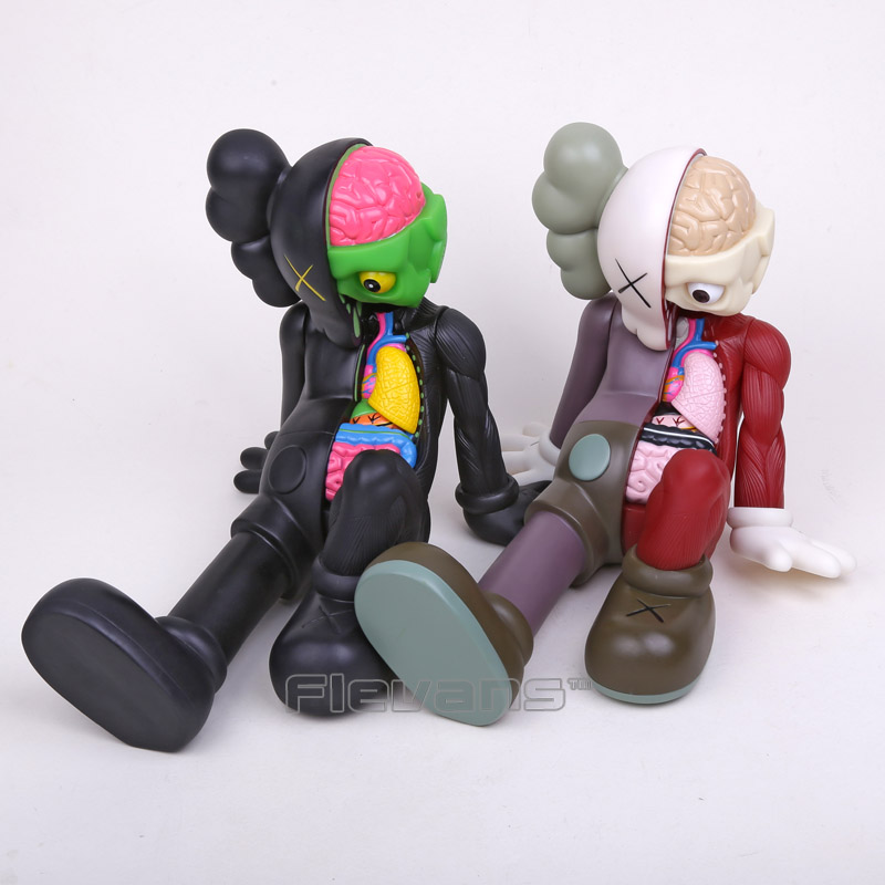 Originalfake KAWS Dissected Companion PVC Action Figure Collectible Model Toy 21cm without box naruto kakashi hatake action figure sharingan ver kakashi doll pvc action figure collectible model toy 30cm kt3510