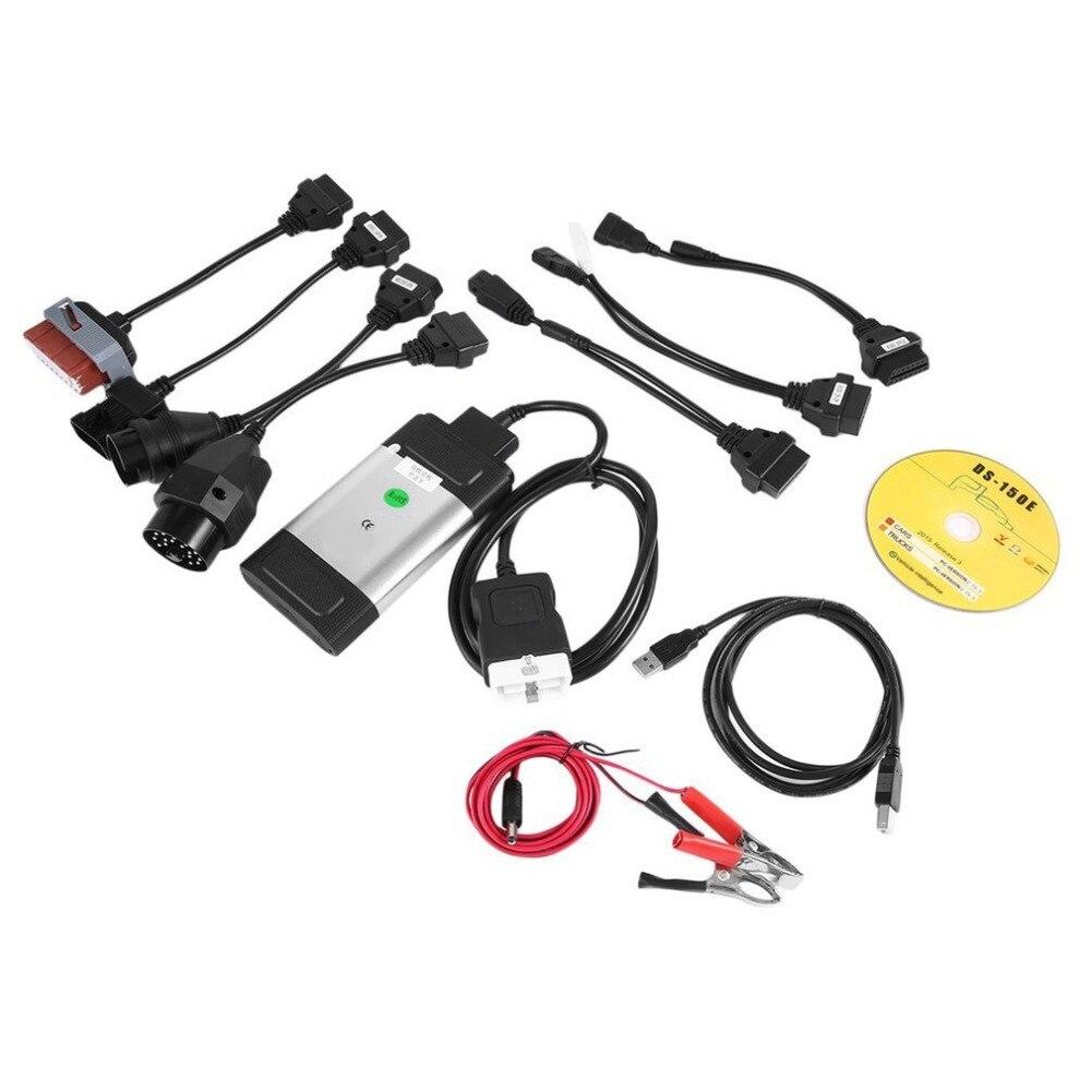 2018 натуральная профессиональный авто TCS CDP Pro Plus сканер для autocom OBD2 инструмента диагностики с 8 шт диагностики автомобиля Кабели комплект