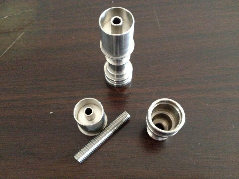D-Nail V1.2 Kopf Infiniti Hybrid E-Nail Titanium Domeless 20mm E-Nail - Haushaltswaren - Foto 2