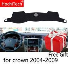 Для Toyota Crown S180 2003-2009 правая и левая рука Драйв приборной панели автомобиля охватывает Мат Подушка тени Pad ковры аксессуары